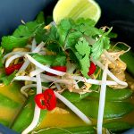 Laksa kokos curry soep