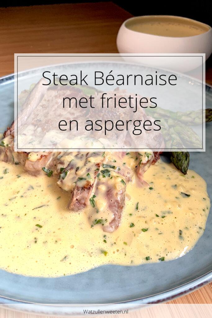 Steak Béarnaise met frietjes