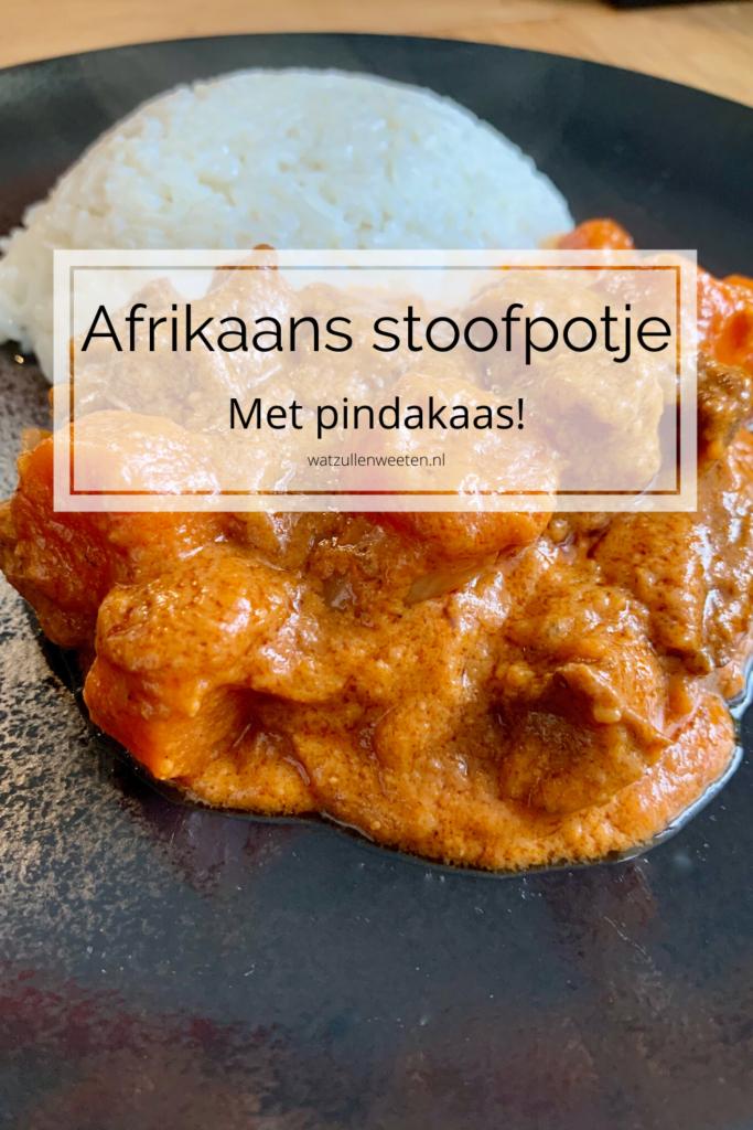 Afrikaans stoofpotje