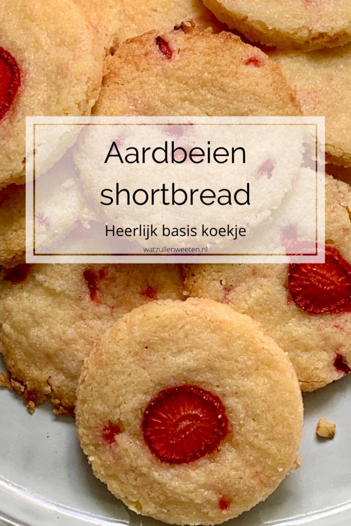 aardbeien shortbread